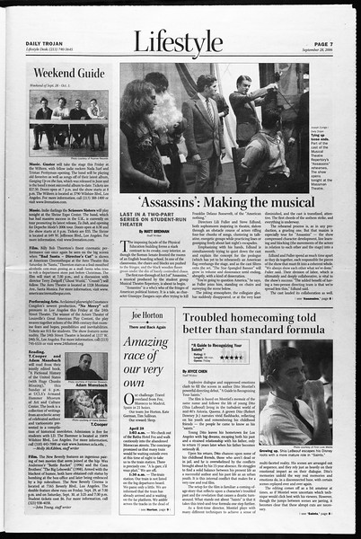 Daily Trojan, Vol. 159, No. 27, September 28, 2006