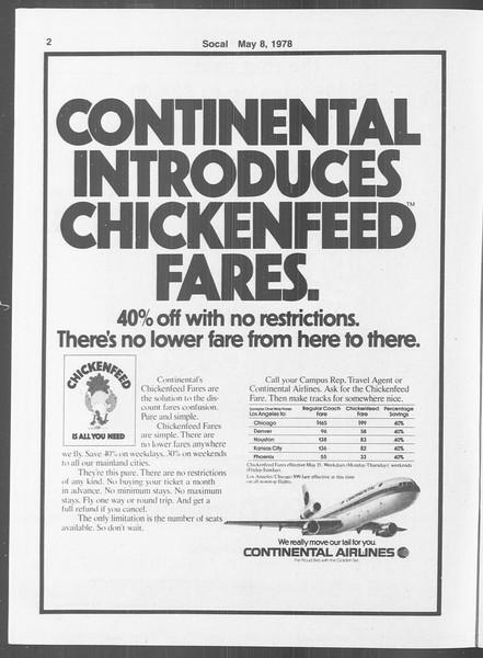 SoCal, Vol. 73, No. 55A, May 08, 1978