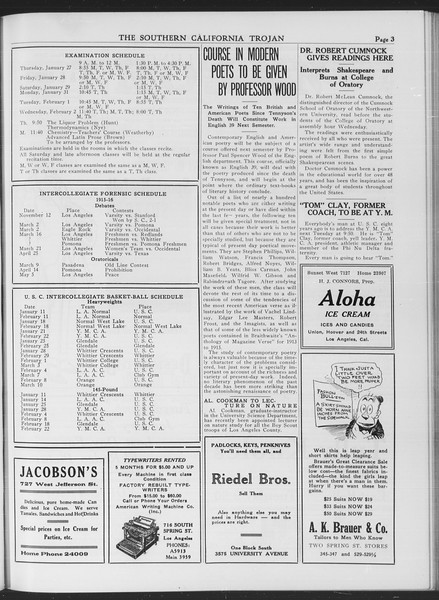 The Southern California Trojan, Vol. 7, No. 63, January 21, 1916