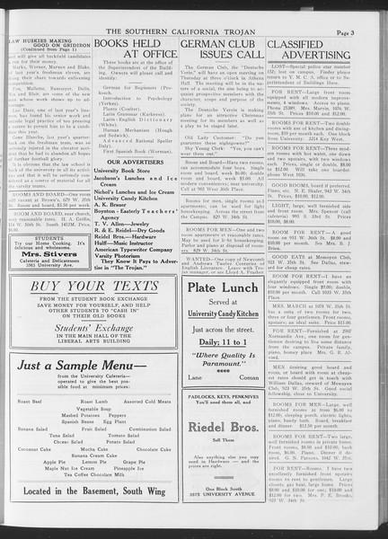 The Southern California Trojan, Vol. 7, No. 8, September 29, 1915