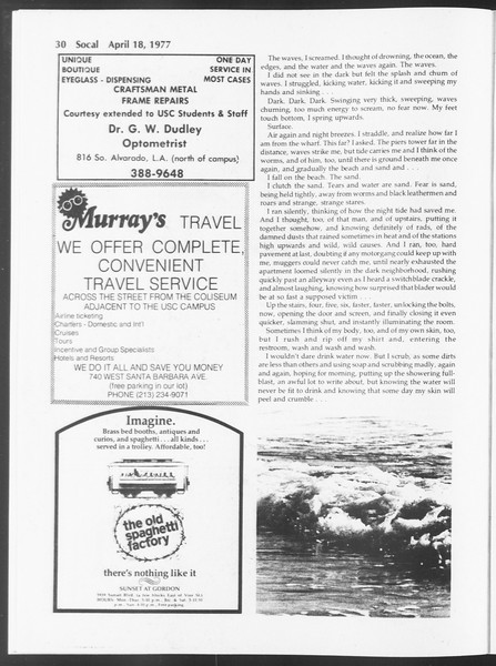 SoCal, Vol. 71, No. 41, April 18, 1977