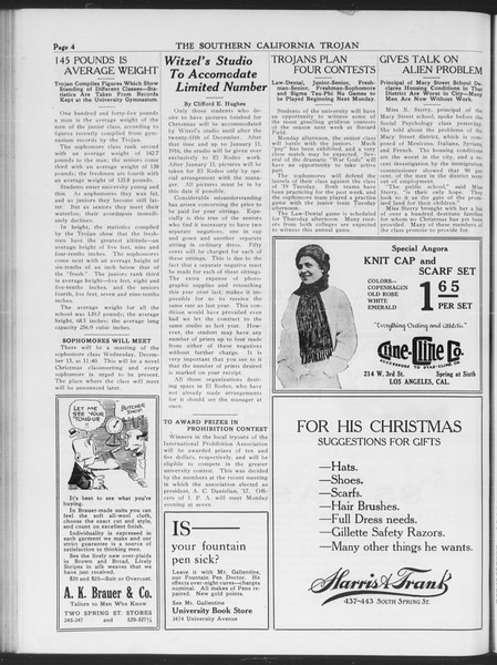 The Southern California Trojan, Vol. 7, No. 47, December 09, 1915