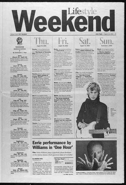 Daily Trojan, Vol. 147, No. 4, August 29, 2002