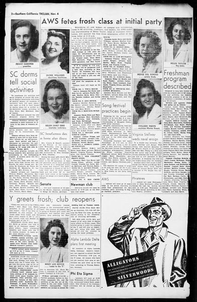 The Trojan, Vol. 36, No. 2, November 06, 1944
