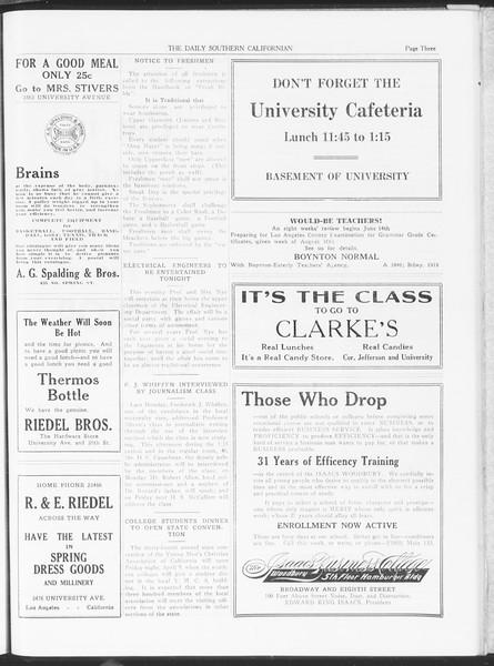 The Daily Southern Californian, Vol. 6, No. 16, April 09, 1915