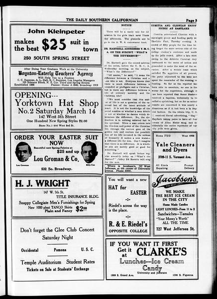 The Daily Southern Californian, Vol. 4, No. 30, April 09, 1914