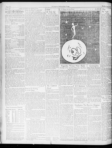 Daily Trojan, Vol. 25, No. 148, June 04, 1934