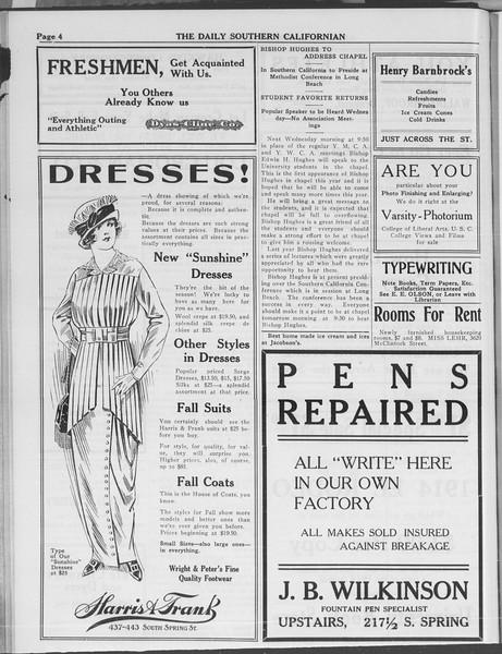 The Daily Southern Californian, Vol. 3, No. 15, October 06, 1913