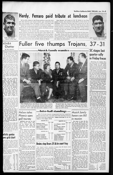 Daily Trojan, Vol. 36, No. 46, January 15, 1945