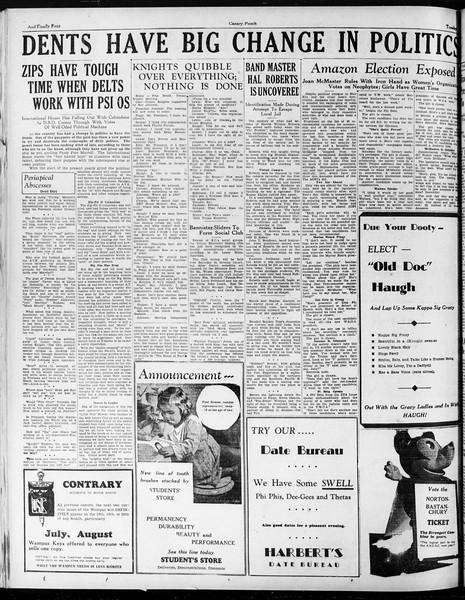 The Yellow Dog, Vol. 3.2, No. 1, May 08, 1934
