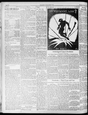 Daily Trojan, Vol. 25, No. 137, May 17, 1934