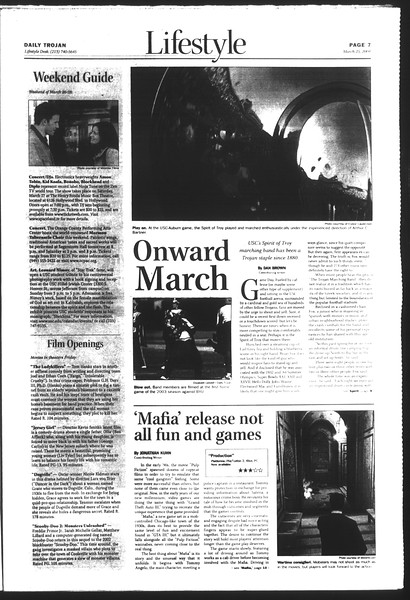 Daily Trojan, Vol. 151, No. 42, March 25, 2004