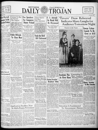 Daily Trojan, Vol. 25, No. 108, April 06, 1934