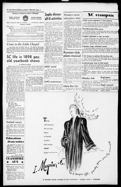 Daily Trojan, Vol. 36, No. 23, December 08, 1944