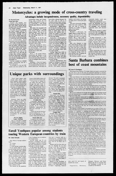 Daily Trojan, Vol. 90, No. 24, March 11, 1981