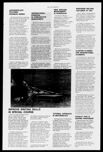 Daily Trojan, Vol. 90, No. 42, April 07, 1981