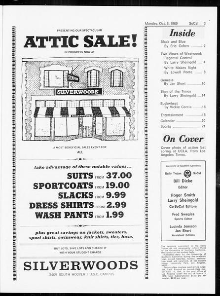 SoCal, Vol. 61, No. 16, October 06, 1969