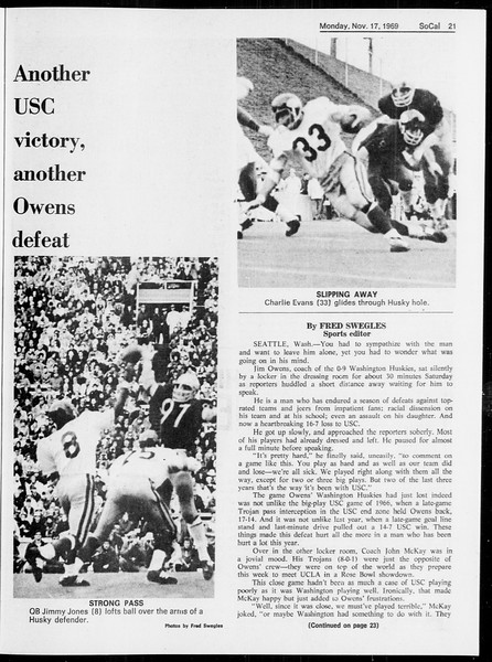 SoCal, Vol. 61, No. 45, November 17, 1969