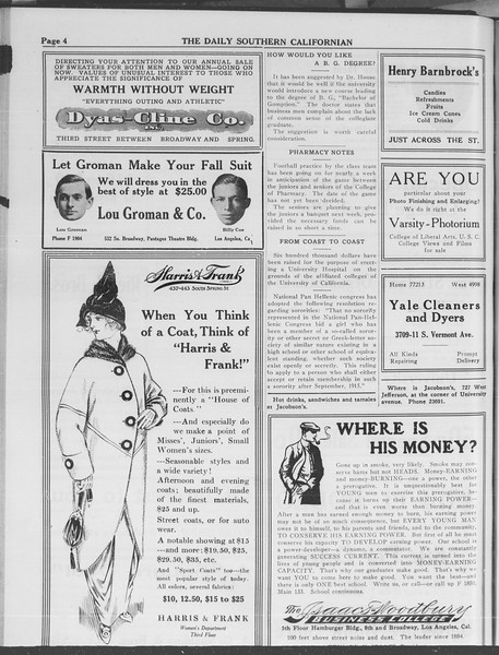 The Daily Southern Californian, Vol. 3, No. 36, November 12, 1913