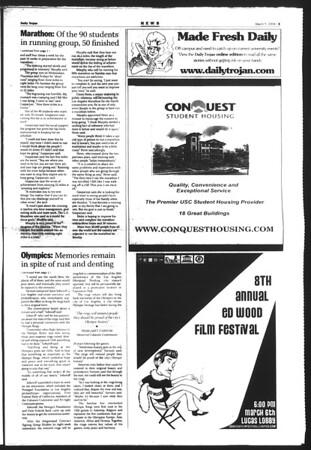 Daily Trojan, Vol. 151, No. 35, March 05, 2004