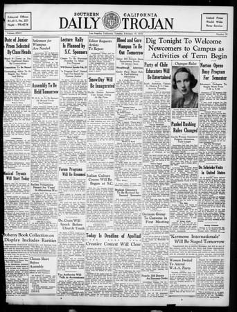 Daily Trojan, Vol. 26, No. 79, February 19, 1935