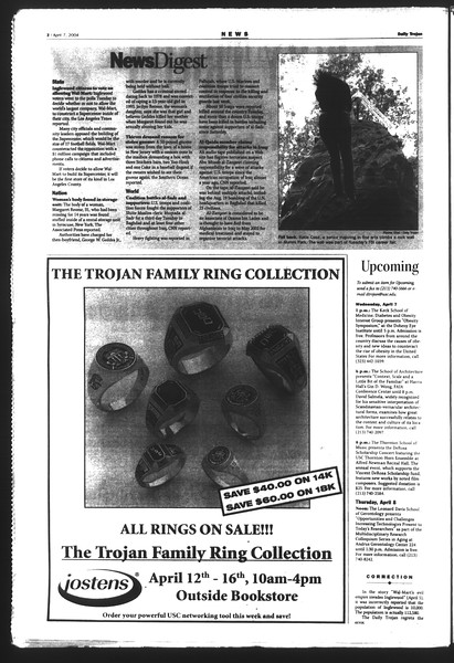 Daily Trojan, Vol. 151, No. 51, April 07, 2004