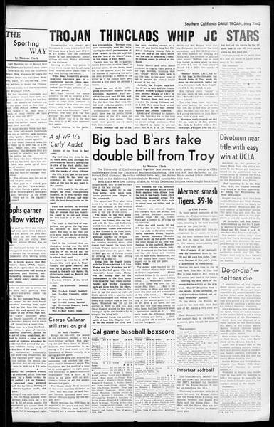 Daily Trojan, Vol. 36, No. 116, May 07, 1945