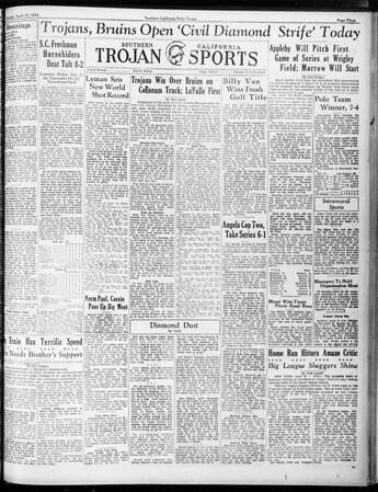 Daily Trojan, Vol. 25, No. 119, April 23, 1934