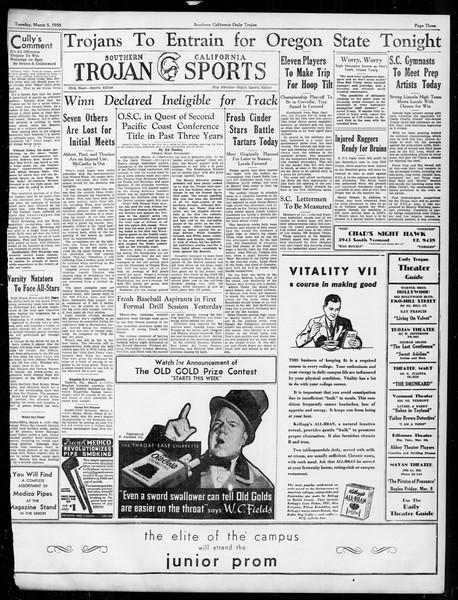 Daily Trojan, Vol. 26, No. 88, March 05, 1935