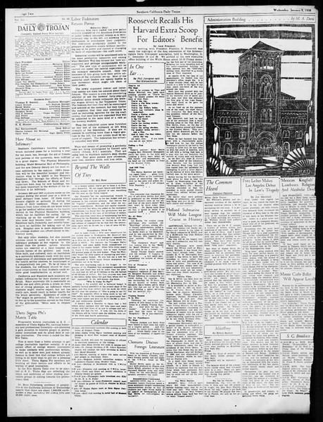 Daily Trojan, Vol. 26, No. 61, January 09, 1935