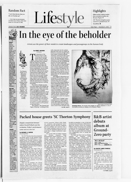 Daily Trojan, Vol. 141, No. 48, November 06, 2000