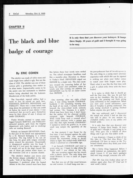 SoCal, Vol. 61, No. 16, October 06, 1969