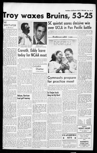 Daily Trojan, Vol. 36, No. 41, January 08, 1945