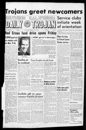 Daily Trojan, Vol. 36, No. 71, March 05, 1945