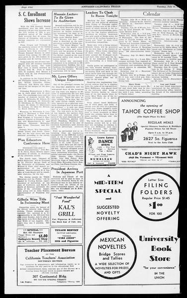 Southern California Trojan, Vol. 13, No. 7, July 10, 1934