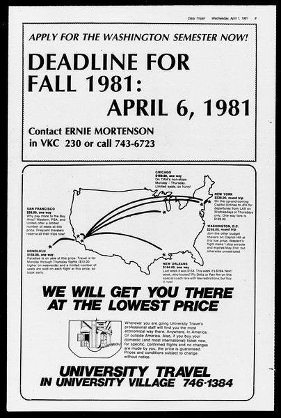 Southern California Magazine, Vol. 1, No. 1, April 01, 1981