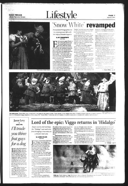 Daily Trojan, Vol. 151, No. 33, March 03, 2004