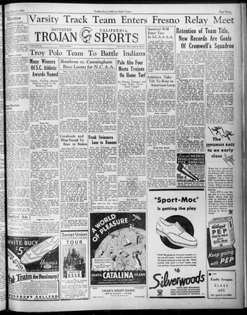 Daily Trojan, Vol. 25, No. 132, May 11, 1934