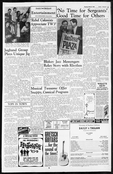 Daily Trojan, Vol. 55, No. 76, March 05, 1964