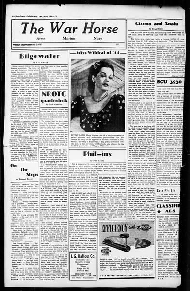 The Trojan, Vol. 36, No. 3, November 08, 1944