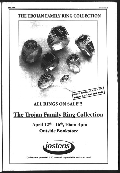 Daily Trojan, Vol. 151, No. 55, April 13, 2004