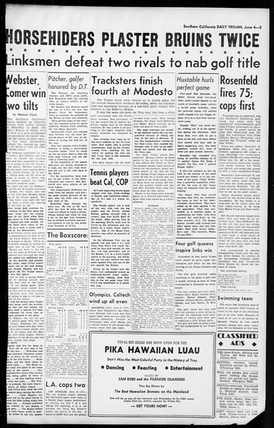 Daily Trojan, Vol. 36, No. 136, June 04, 1945