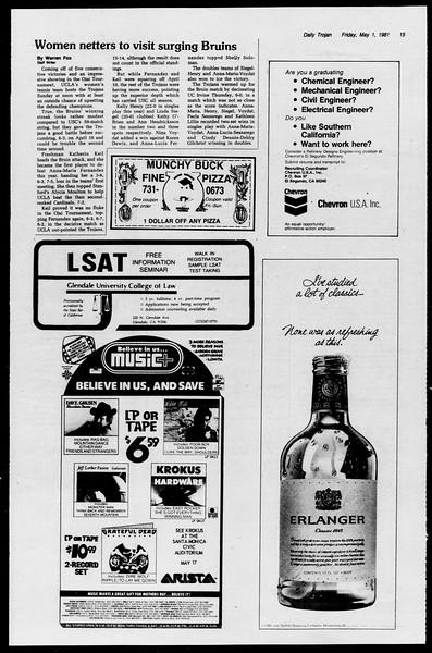 Southern California Magazine, Vol. 1, No. 1, May 01, 1981
