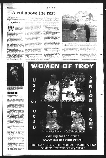 Daily Trojan, Vol. 151, No. 28, February 25, 2004