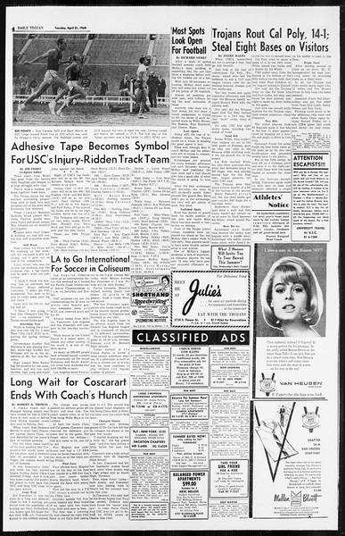 Daily Trojan, Vol. 55, No. 102, April 21, 1964