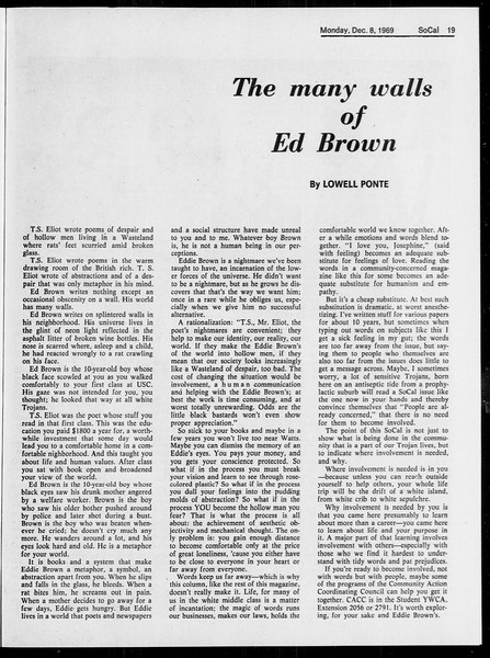 SoCal, Vol. 61, No. 56, December 08, 1969