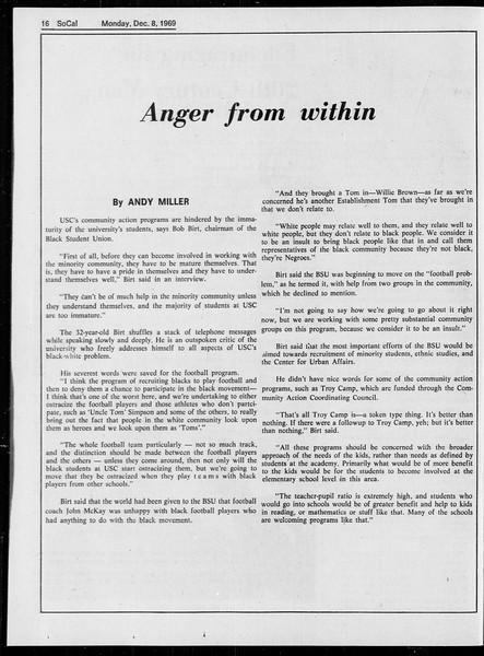 SoCal, Vol. 61, No. 56, December 08, 1969