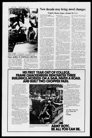 Daily Trojan, Vol. 90, No. 22, March 09, 1981
