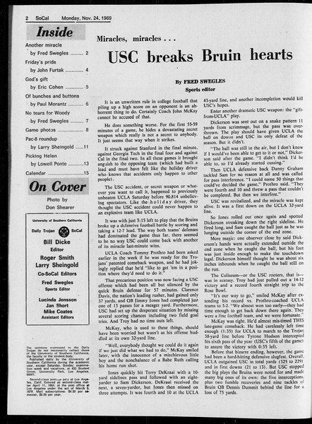 SoCal, Vol. 61, No. 50, November 24, 1969