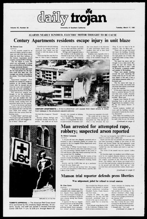 Daily Trojan, Vol. 90, No. 28, March 17, 1981